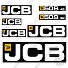 JCB 509-42 Telehandler Decal Kit Loadall Full Set