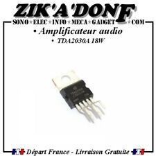 Amplificateur audio TDA2030 TDA2030A 18W