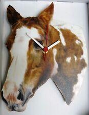 horse hanging clock