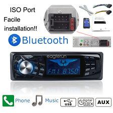 I DIN Radio Coche Bluetooth In-Dash 12V SD/USB/AUX FM Estéreo MP3 Reproductor