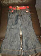 Next Bootleg Cotton Blend Girls' Jeans (2-16 Years)