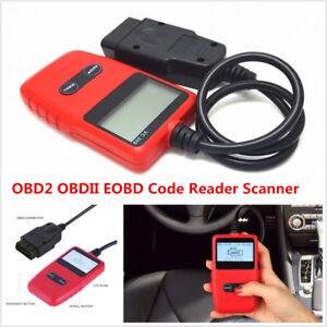 New OBD2 OBDII EOBD Car Fault Code Reader Engine Scanner Diagnostic Reset Tool