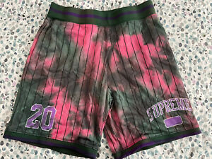 Supreme Tie Dye Basketball Shorts AW20 Size Small