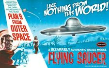 PLAN 9 FROM OUTER SPACE FLYING SAUCER MODEL KIT POLAR LIGHTS NEW IN STOCK