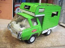 TONKA TOY SCAMPER CAMPER #1250 RV MOTOR HOME TOY TRUCK 1970'S PRESSED STEEL