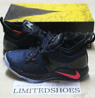 NIKE PG 2 PLAYSTATION BLACK RACER BLUE AT7815-002 white ice ncaa acg bhm