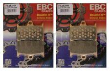 Yamaha Mt-09 Tracer 2015-2018 Set EBC Sinterizzato Hh Pastiglie Freni Ant