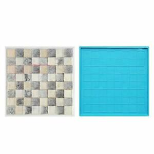 Chess Board Silicone Resin MoldChess Board Molds for Resin CastingChess Board...