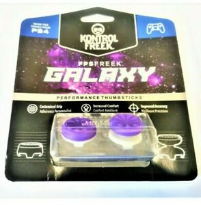 KontrolFreek FPS Freek Galaxy Purple for PS 4/5 1 High-Rise, 1 Mid-Rise | Purple