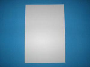 Polystyrol Platte 2 mm, (GP 37,29 €/m²) weiss, 295x200 mm
