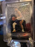 Deandre Ayton 2018-19 Chronicles Obsidian Preview RC Rookie Suns Star RC Silver