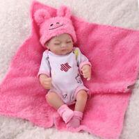 Lifelike Newborn Baby Boy Doll 100% Silicone Vinyl Realistic Reborn Dolls Gift