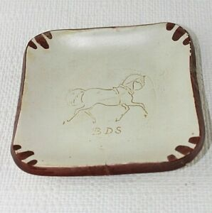British Driving Society BDS horse & carriage Plate Pin tray Horse Signed 41