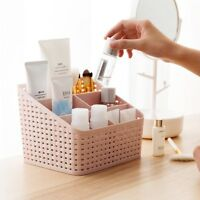 US STOCK Multifunction Cosmetic Plastic Organizer Organizer Box Storage Desktop