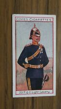 More details for 33rd queens own light cavalry #18 cope cigarettes 1908 eminent british regiments