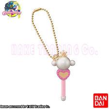 Sailor Moon Die Cast Charms 3 Key Chain Figure Pluto Lip Rod Bandai