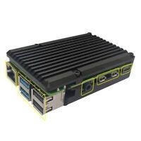 Fit For Raspberry Pi 4B Protective Box CNC Aluminum Alloy Case Cover Enclosure