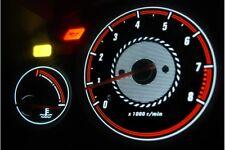 Rover 45 glow gauge plasma dials tachoscheibe glow shift indicators MPH KMH