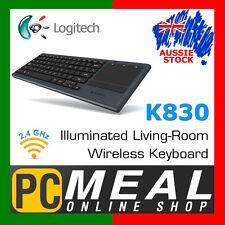 Logitech K830 Illuminated Living-Room Keyboard  Wireless Backlit keys & Touchpad