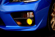 2015 - 2017 Subaru Impreza WRX STi Yellow Overlay Tint for Fog Lights. JDM