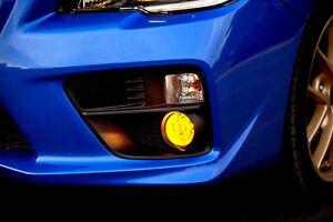 2015 - 2019 Subaru Impreza WRX STi Yellow Overlay Tint for Fog Lights. JDM