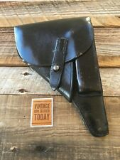 Wunderlich Berlin 1963 Police Walther P38 Military Style Holster With PD History