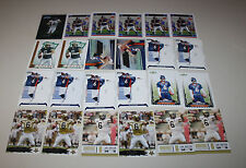 JAY CUTLER 52 CARD INSERT & ROOKIE LOT CHICAGO BEARS FREE SHIPPING