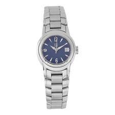 ESQ Movado Swiss Quartz Blue Dial Silver Stainless Steel Bracelet 7100901