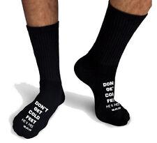 Personalizzato Calzini da Uomo Matrimonio Freddo Feet Date Sposo Regalo 9-11