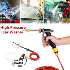 12V Portable Car High Pressure Washer Water Pump Kit Water Gun Jet Wash Cleaner