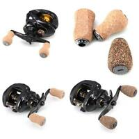 Portable Wood+ Metal Baitcasting Spinning Fishing Reel Handle Knob Replacement