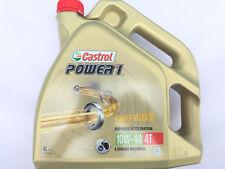 4 Liter Castrol Power 1 (10W-40) 4T Motorrad Öl Motoröl JASO MA-2 und API SJ