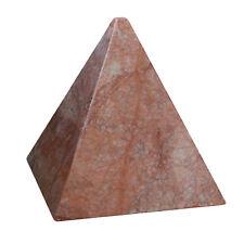 Piramide da tavolo Marmo Botticino Table Marble Pyramid Home Design 6x6x16h
