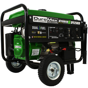 DuroMax XP5250EH5250 Watt Electric Start Dual Fuel Portable Hybrid Generator