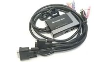IOGear 2-Port USB DVI-D Cable KVM w/ Audio & Mic — Includes Remote — GCS932UB