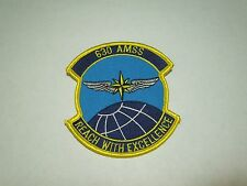 Vintage US Air Force Squadron 630 AMSS Reach with Excellence- Sewing Patch