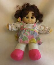 Baby Doll W/ Blue Sleep Eyes. 10 In. Original Clothes Made In China. Preowned