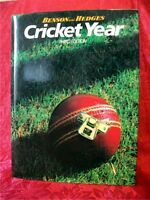 Benson and Hedges CRICKET YEAR, Third Edition, Oct 1983 to Sept 1984; D. Lemmon