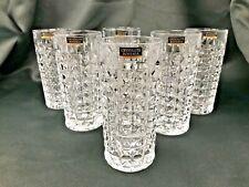 Set of 6 Highball Crystal Glass Water Juice Whiskey Tumbler 8oz / 260ml Bohemia