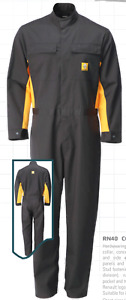 BALLYCLARE RENAULT OVERALL BOILERSUIT GREY TALL FIT
