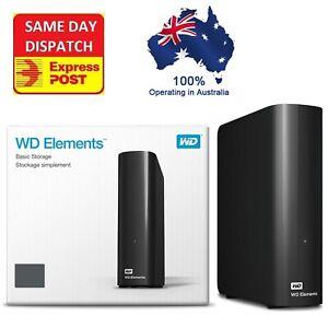 Western Digital WD Elements 18TB 14TB 12TB 10TB 8TB USB 3.0 External Hard Drive