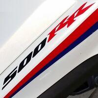 500 RR CBR decals black red stickers ruckus pocket bike honda nsr 50 r cc 49 cr