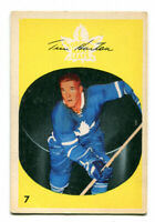 1962/63 Parkhurst Tim Horton Card #7 Toronto Maple Leafs Nice Card