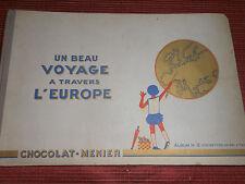 ALBUM D'IMAGES N 2 CHOCOLAT MENIER A TRAVERS L'EUROPE COMPLET  ( ref 31 )