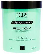 HAIR BOTOX PLASTICA CAPILAR FELPS 30 MIRACLE TREATMENT 1KG 35.2oz