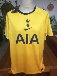 Tottenham Hotspurs Football Second Kit 2020/21 EPL Nike Replica Size Large COYS