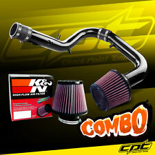 05-06 Scion tC 2.4L 4cyl Black Cold Air Intake + K&N Air Filter