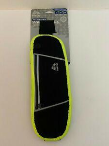 RBX Running Waist Pack, Black/Grey/Yellow NWT