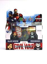 Marvel Minimates Black Widow & Crossbones Series 67 Captain America Civil War
