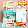 English Spelling Toy Wooden Cardboard Alphabet Game Educational Education Tools